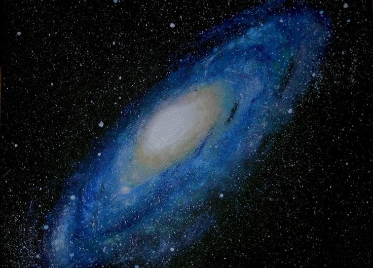 Andromeda. by *amelianaire123 on deviantART #andromeda #galaxy