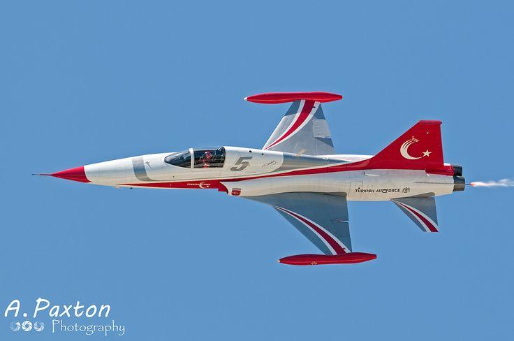 https://flic.kr/p/PSGx5H | Turkish Air Force | Northrop NF-5A Freedom Fighter | 71-3048/5 | 133 Filo 'Türk Yildizlari', Turkish Stars Aerobatic Team - Konya Air Base, Turkey | NTM15 - Konya Air Base, Turkey