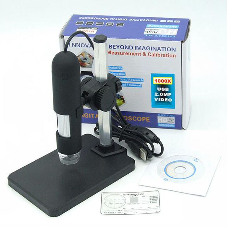 Digital Microscope 1000x Magnification Magnifier USB 8-LED Digital Camera Microscope with Measurement Software //Price: $15.99//     #onlineshop