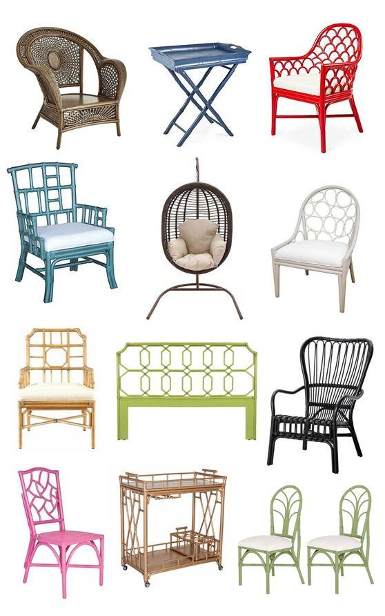 Decorative Rattan Furniture Roundup Centsationalgrl