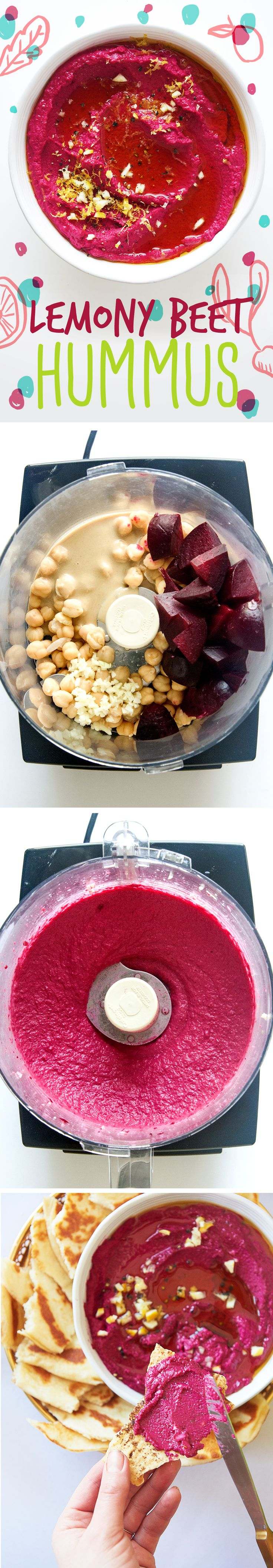 roasted beet hummus | healthy recipe ideas @xhealthyrecipex |
