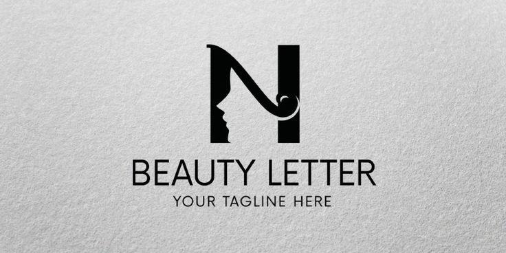 Beauty Letter Logo Template for Sale: 29$ + TVA