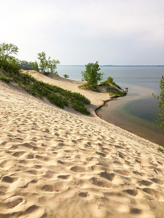 There's nowhere in Ontario like this. These dunes at Sandbanks Provincial Park reach up to 25 m high and the sand is like velvet to the feet. Find out what else to see and do Prince Edward County.