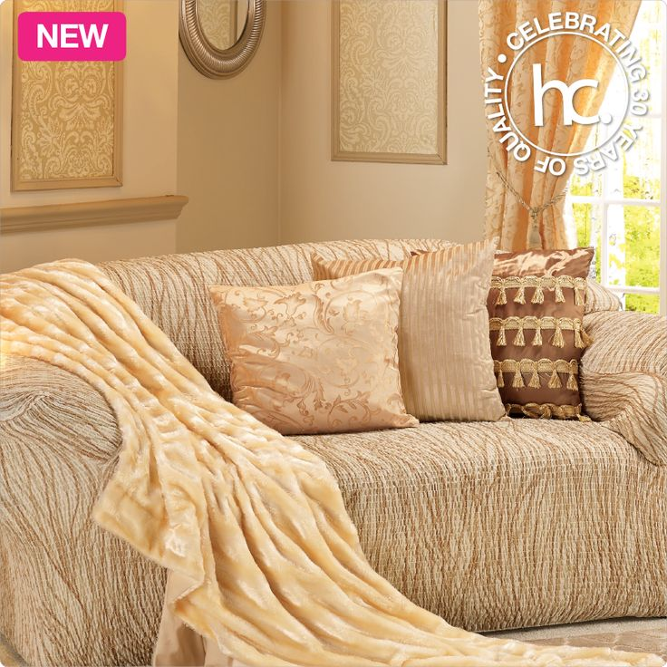 Transform your room in 3 easy steps with the Gold Leaf lounge set.