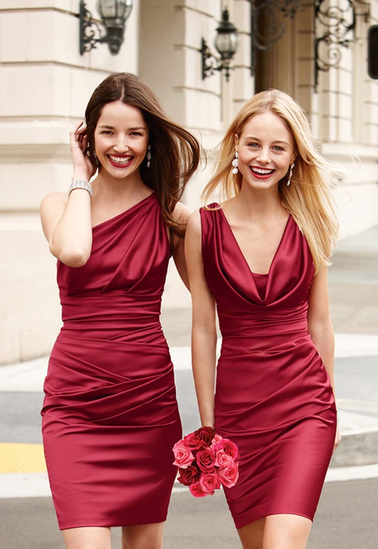 178 best bridesmaids dresses images on pinterest bride maid our warm apple is taking top honors as our hottest hue for fall check out these two bridesmaid dresses that just arrived styles 85106 ombrellifo Gallery