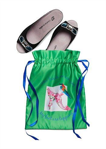 Well Heeled Shoe Bag #gift #travel