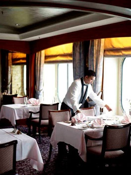 Crystal Cruises Feature 'Top 10 luxury cruise companies' Gourmet Traveller Magazine : on the bucket list