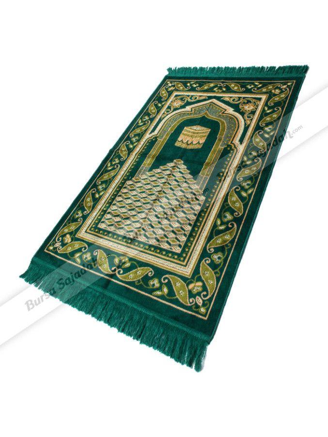 Velteksa Medium Spiegel dibuat dengan pilihan warna adem serta motif turkish yang terlihat elegan & klasik. Sajadah yang juga digemari sebagai oleh-oleh haji/umroh ini  berbahan lembut yang nyaman untuk dipakai sehari-hari. Ukuran sajadah: 68 x 105 cm