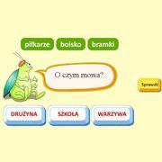 gry słowne i logiczne na lekcje