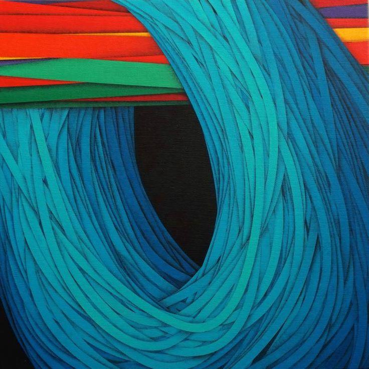 """Saatchi Art Artist Luciano de Liberato; Painting, """"The game (il gioco)"""" #art"""