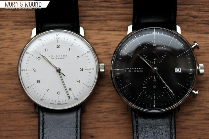 worn wound hands on with max bill watches by junghans. Black Bedroom Furniture Sets. Home Design Ideas