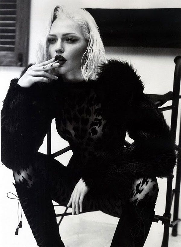 Sasha Pivovarova by Mert Alas & Marcus Piggott for Vogue Paris October 2011