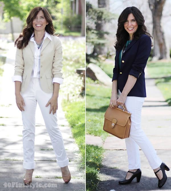 How to wear white - the ultimate inspiration guide with more than 50 examples as worn by women over 40