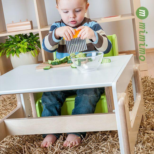 Rostoucí nábytek mimimo pro děti od 6 měsíců do 6 let - zdravé sezení! - Pro zdravé sezení dětí je potřebný kontakt chodidel se zemí. - Pokud jej dítě nemá, snaží se získat oporu pro nožičky tím že se natahuje a křiví si páteř. - Ergonomický design přátelský k dětem díky čtyřem nastavitelným polohám – během toho jak dítě roste je vždy zajištěna vhodná poloha sezení. #RostouciNabytek #nabytek #deti #zidle #DetskyNabytek #mimimo #detskypokoj