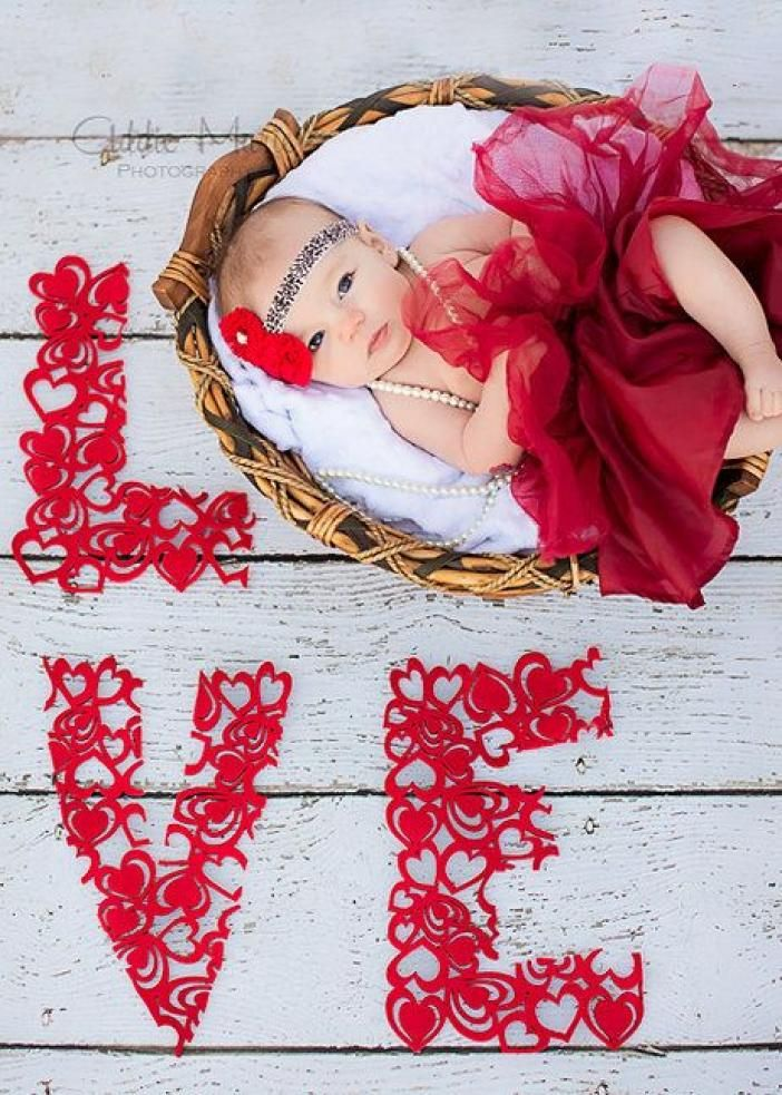 19 Valentine's Day Photo Ideas For Your Little Ones - BabyGaga Buzz