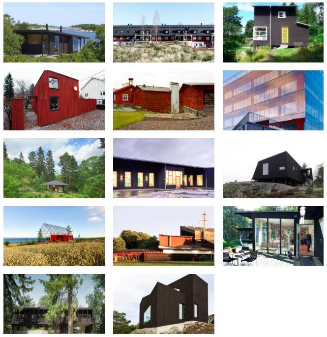 Nominerade hus i Rödfärgspriset 2016! Rösta i publikpriset 2016. Publikpriset delas ut till det objekt bland de nominerade bidragen till Rödfärgspriset 2016 som fått flest röster av svenska folket här på hemsidan. Du som röstar kan även vara med och tävla om en Falu Rödfärg Filt!