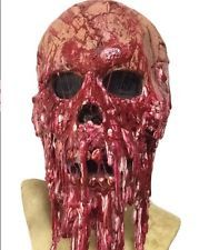 New Bloody Horror Melted Face Mask Halloween Costume Accessories Party Supplies