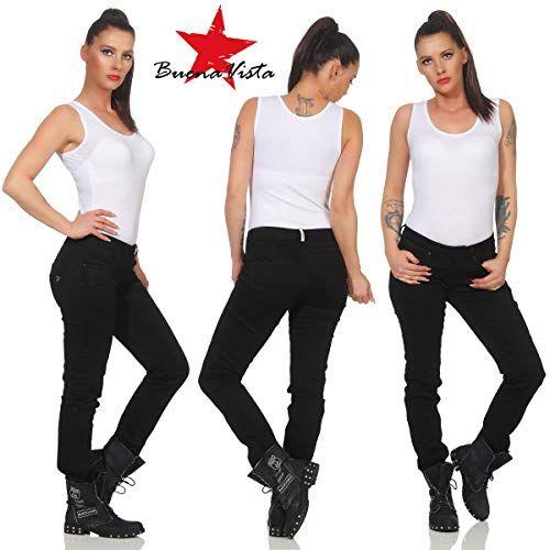 noch nicht vulgär große Vielfalt Modelle heißes Produkt Buena Vista Damen Jeanshose Malibu C Stretch Twill m ...