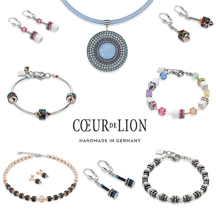 The Autumn / Winter Collection for 2016 from Coeur de Lion continues to showcase unique materials, bright colours and light reflecting necklaces, earrings and bracelets.