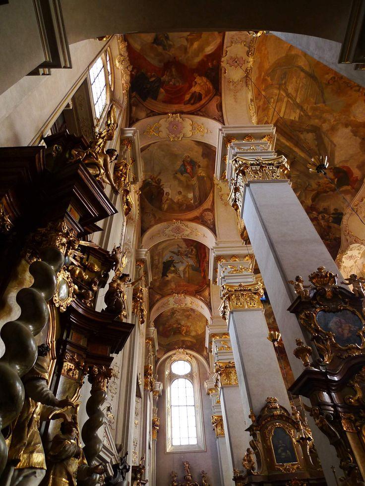 Václav Vavřinec Reiner - Stropní fresky kostela sv. Jiljí v Praze (1734)