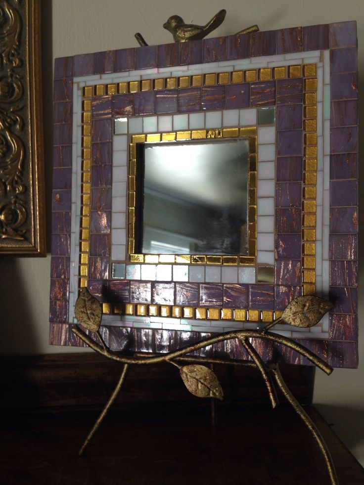A personal favorite from my Etsy shop https://www.etsy.com/listing/247041828/elegant-glass-tiled-11-square-mosaic
