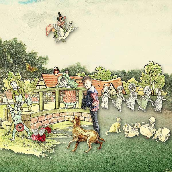 Children's Books by Krysty Scrap Designs
