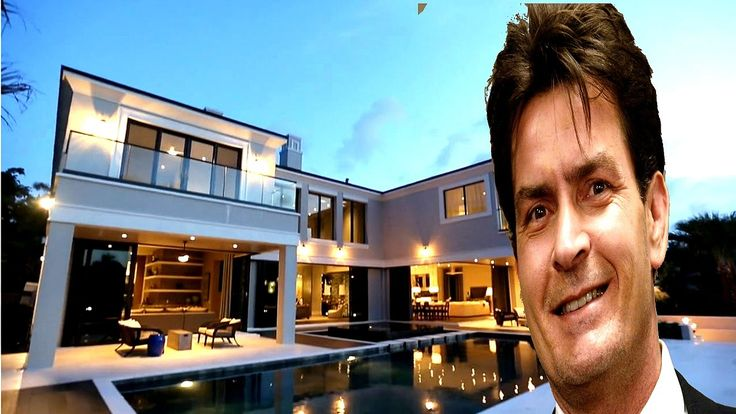 Charlie Sheen House With His Family
