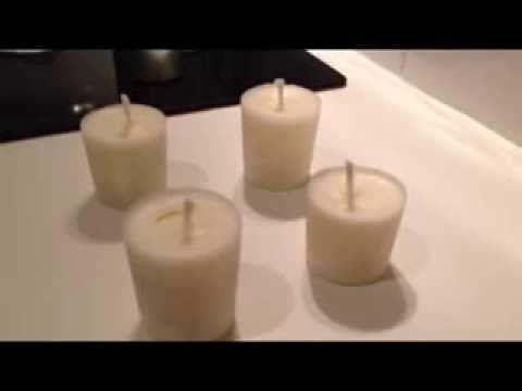 Fabriquer une bougie maison - Astuce Déco - Fabriquer une bougie soi-même - YouTube