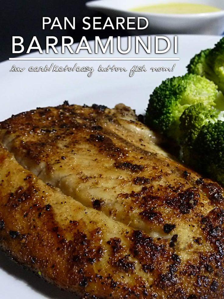Pan Seared Barramundi A Recipe For Low Carb Keto Pan