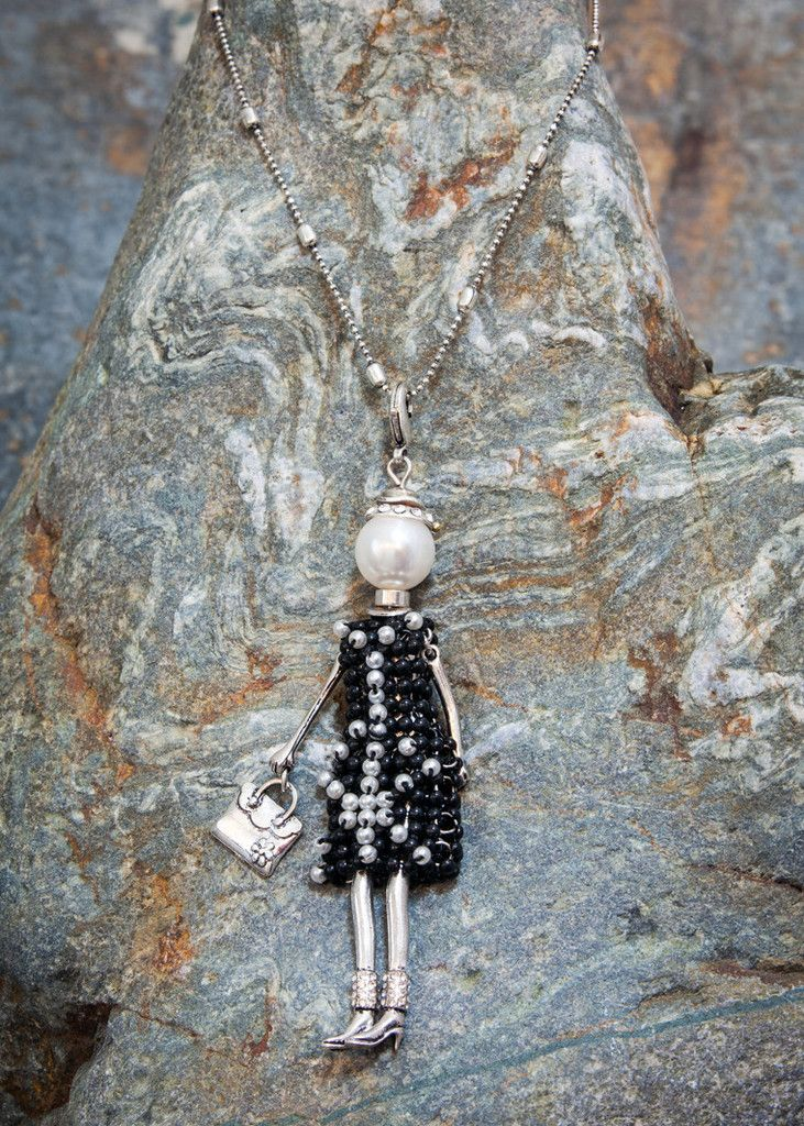 French Doll Necklace Isabelle | Villancher Fashion Jewellery Boutique