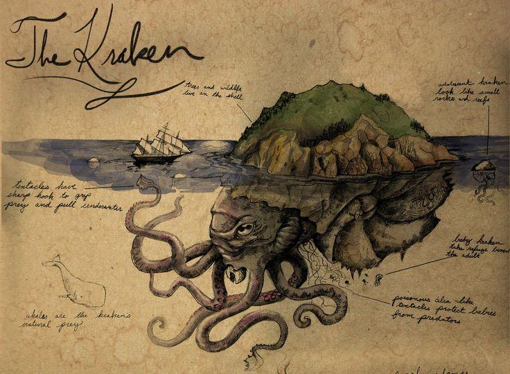 A kraken in its lair