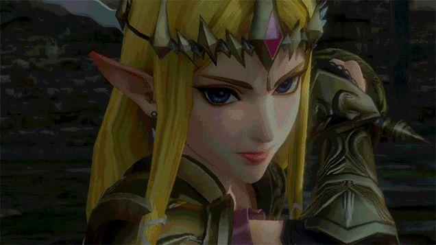Zelda Victory Pose