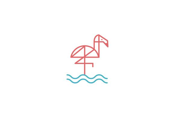 Flamingo Logo by tanmay.goswami on @creativework247