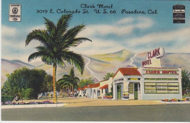 Wish You Were Here: Route 66 Motels In Vintage Postcards: Motel Projects, Clarks Motel, Miniature Motel, 66 Motel, Vintage Motels, Motels Usa