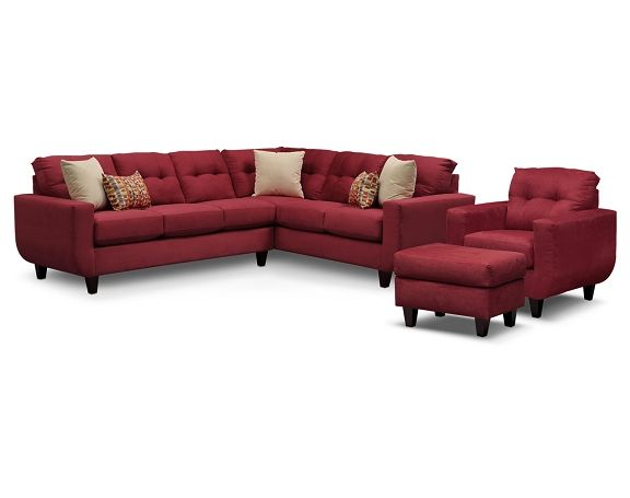 West Village Red II Upholstery Collection - Value City