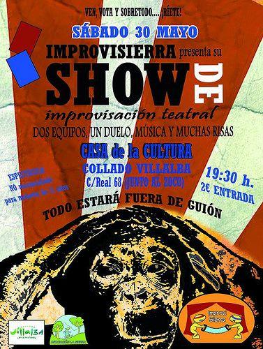 El sábado, espectáculo de improvisación teatral en la Casa de Cultura - villalbainformacion.com