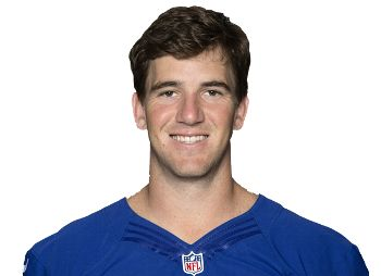 "Eli Manning - Elisha Nelson ""Eli"" Manning is an American football quarterback for the New York Giants of the National Football League."