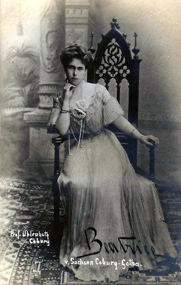 Prinzessin Beatrice von S-Coburg Gotha , Prinzessin von Orleans-Bourbon 1884 – 1966 | Flickr - Photo Sharing!