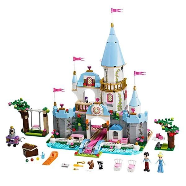 Princess cinderella's romantic castle indosoccerstarz (3)