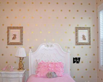 Tatuajes de estrellas. 8 punto de estrellas. Cuadros geométricos. Tatuajes de estrellas de oro. Octagram etiqueta. Etiqueta de la pared del cuarto de niños. Etiquetas de decoración del hogar.