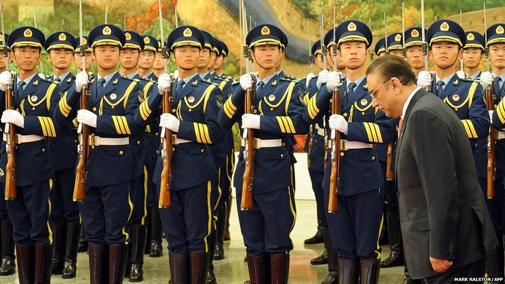 June 5, 2012: Pakistan President Asif Ali Zardari arrives in China for a meeting of the Shanghai Cooperation Organisation which was formed in 2001 to curb extremism in the region and enhance border security.