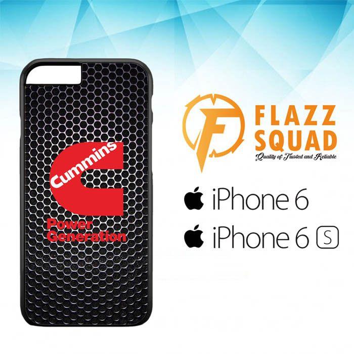 cummins Power Generation logo Z3884 iPhone 6 6S Case
