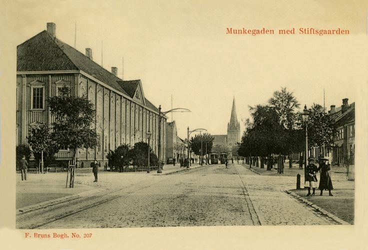 Trondheim, Norway in circa 1906