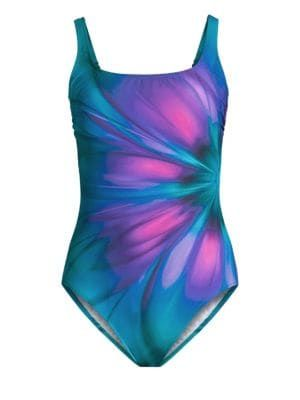 cd5ce544a9 Gottex Swim - Printed One-Piece Swimsuit | Salacious Swimwear in ...
