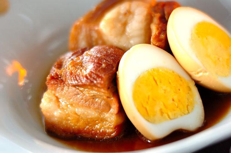 卵入り豚の角煮のレシピ・作り方 - 簡単プロの料理レシピ | E・レシピ