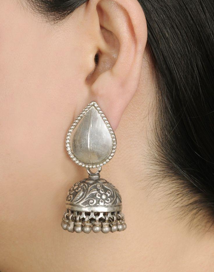 Fabindia.com | Earrings Silver Anusuya 959