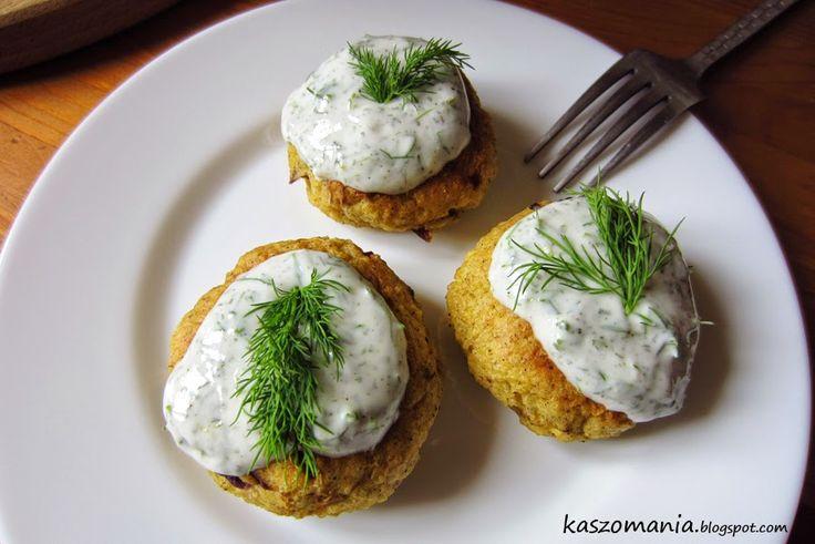 Kotlety z jaszy jaglanej i ziemniaków