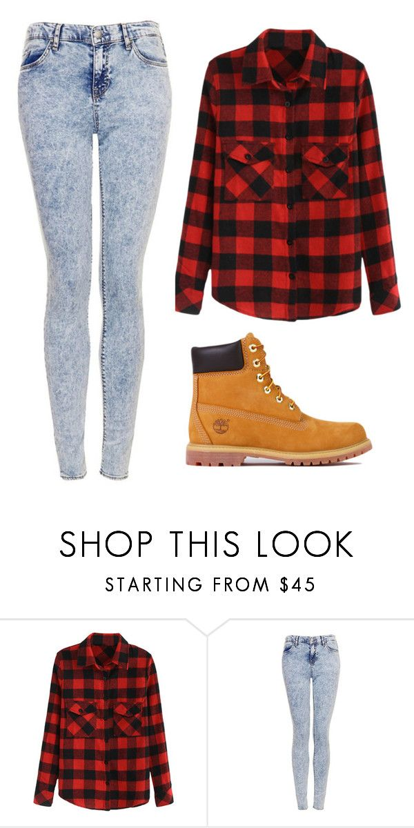 """Those Boots"" by marsophie ❤ liked on Polyvore featuring Topshop, Timberland, women's clothing, women, female, woman, misses and juniors"