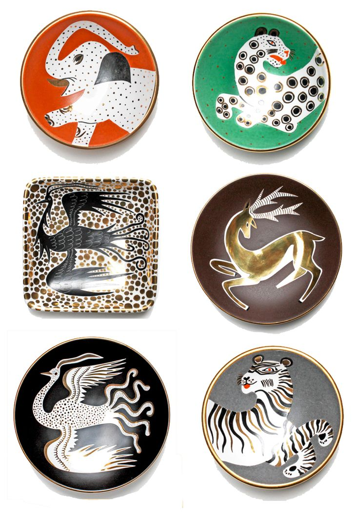 Patch NYC - Waylande Gregory animal plates. I am Absolutely, 100% In-Love with these plates!