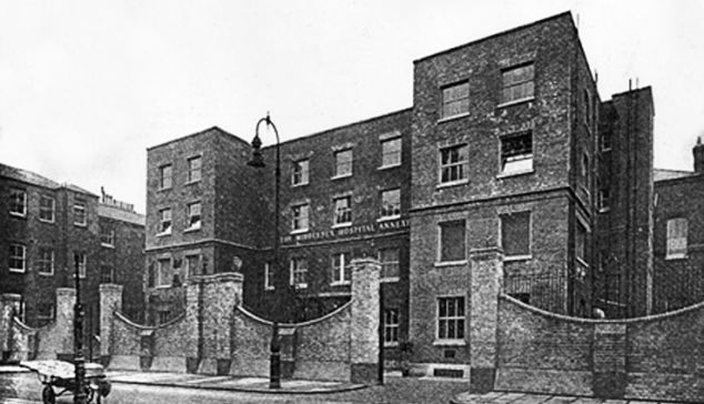 Grim: The Cleveland Street Workhouse inspired Oliver Twist as Charles Dickens lived only nine doors down from the feared institution